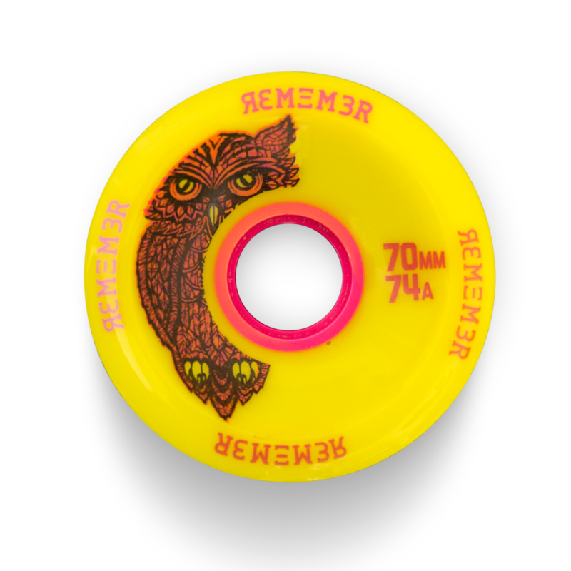Remember Collective 70mm Original Hoot Longboard Slide Wheel