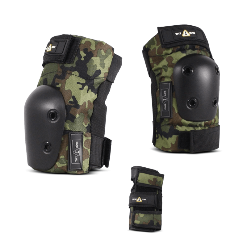 1-TRI Jr Pad Set Camo