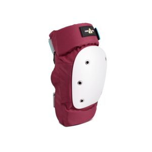 1-TRI Adult Max Comfort 2 Pack Combo Safety Gear Wine Knee angle