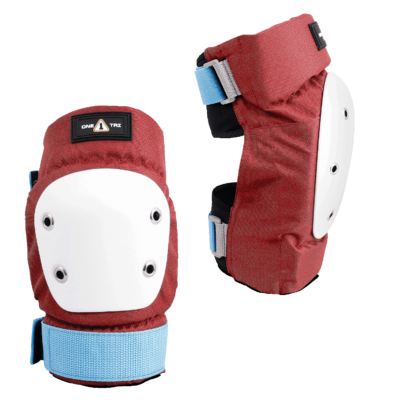 1-TRI Adult Max Comfort 2 Pack Combo Safety Gear Wine