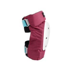 1-TRI Adult Max Comfort 2 Pack Combo Safety Gear Wine Knee