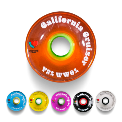 Remember Collective 70mm California Cruiser Wheels