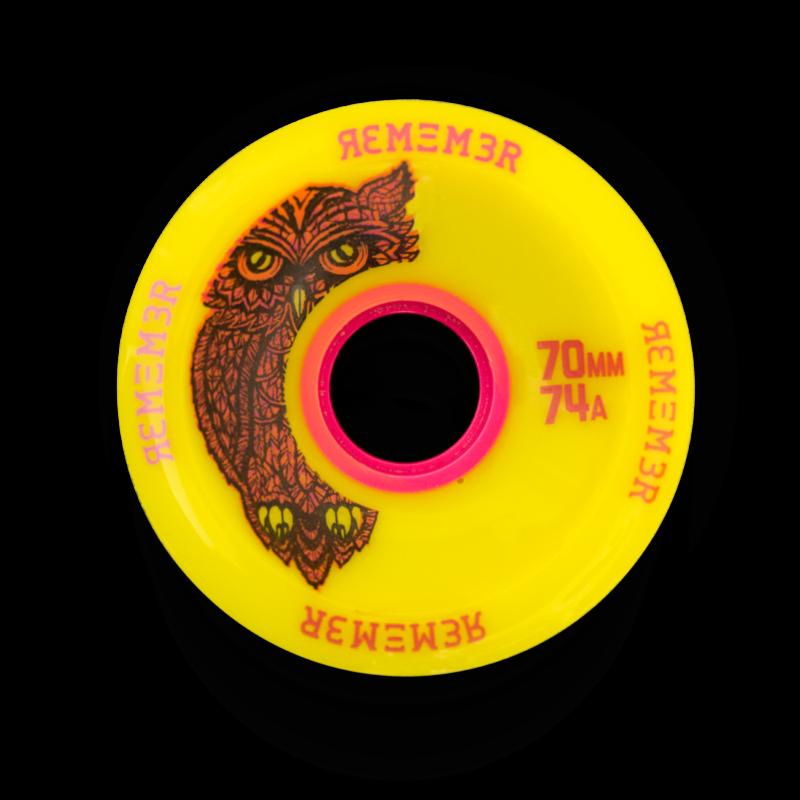 Remember Collective 70mm Original Hoot Longboard Slide Wheel
