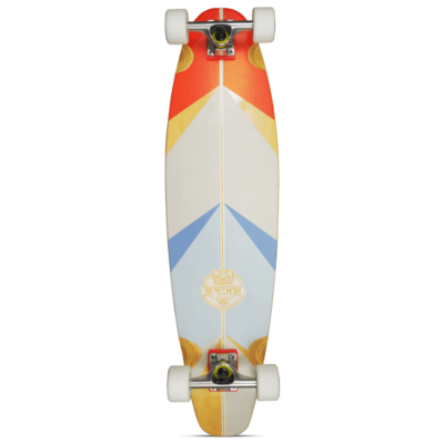 "Remember Collective Camalu 35"" Longboard Pintail Cruiser"