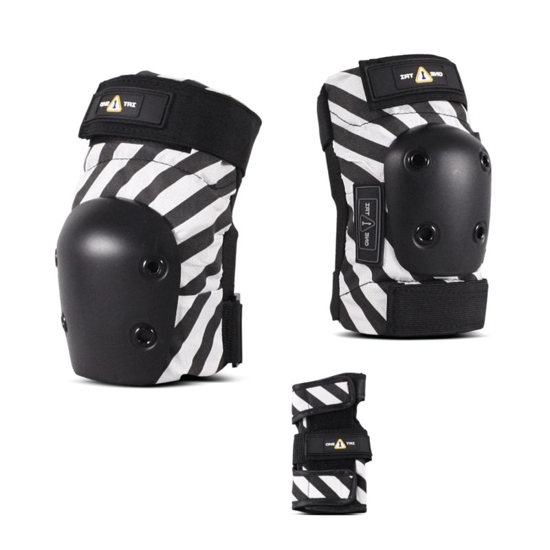 1-TRI Jr 3pack Pads Stripes