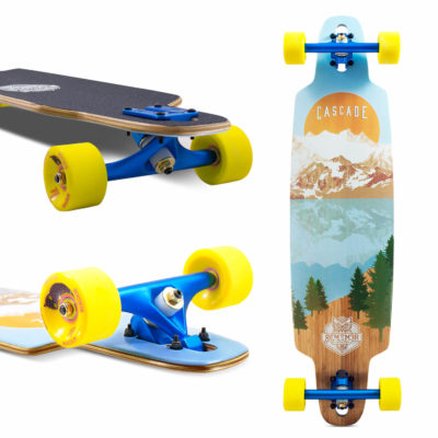 Remember Collective Cascade Drop Thru Longboard 37""